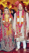 INDUSTRIES,PORTS,EMPLOYMENT & SELF - EMPLOYMENT MINISTER NARAYAN RANE'S SON NITESH RANE WEDDING AT HOTEL GRAND HAYTT KALINA.