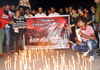 SAHAS Foundation Gave Tribute to Kamala Mills incident and did Candle March at Marine Drive.