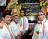 MP.& UNION MINISTER OF STATE MILIND DEORA & MLA AMIN PATEL IN SOUTH MUMBAI MUMBADEVI ASSEMBLY.