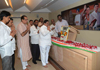 MUMBAI CONGRESS TRIBUTE TO LOKMANYA TILAK ON HIS BIRTH ANNIVERSARY AT RAJIV GANDHI BHAVAN.