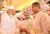 Ex. Union Minister & South Mumbai Yuva Leader Ex.MP Milind Deora meets His Holiness Dr.Syedna Mufaddal Saifuddinji (TUS) & took Blessing.
