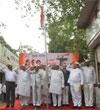 Flag Hosting on Independence Day by MRCC at Rajiv Gandhi Bhavan CST Mumbai.