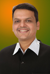 DEVENDRA FADNAVIS (CHIEF MINISTER OF MAHARASHTRA).
