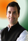 RAHUL GANDHI VICE PRESIDENT ALL INDIA CONGRESS COMMITTEE.