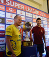 Hero Indian Super League 2014 Press Conference at Hotel Trident.